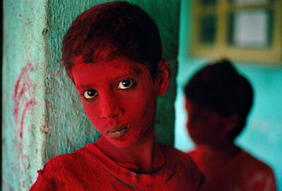 Steve McCurry, 'RED BOY, HOLI FESTIVAL, MUMBAI (BOMBAY), INDIA, 1996', 1996