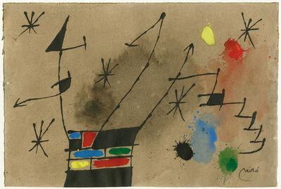 Joan Miró, 'ohne Tiel', 1965