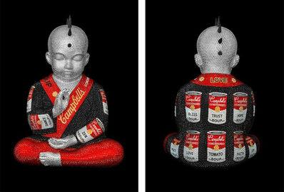 Metis Atash, 'I am feat. Warhol', 2018