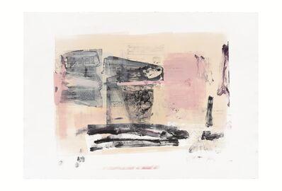 Rebeca Mendoza, 'Serie Cortazar, Monoprint Z', 2015