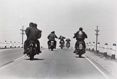 Danny Lyon, 'Route 12, Wisconsin, from The Bikeriders, 1966', 1966
