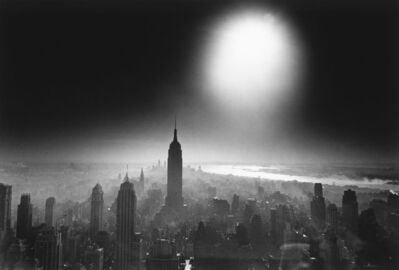 William Klein, 'Atom Bomb Sky (Manhattan)', 1955