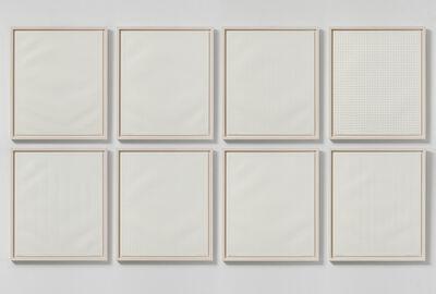 Jan Schoonhoven, 'Geprägte Strukturen (M I-VIII)', 1972