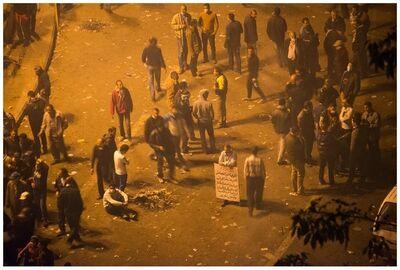 Lidwien van de Ven, 'Cairo, 25/01/2013 (Tahrir Square)', 2014