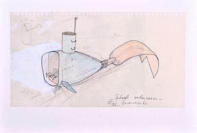 Panamarenko, 'Pedaal Onderzeeër', 2003