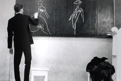 Luc Fournol, 'Yves Saint-Laurent, Paris', 1960