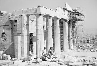 """Tod Papageorge, 'From """"On The Acropolis"""" ', 1983-1984"""