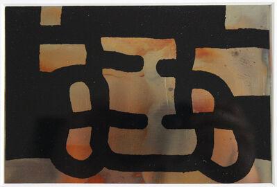 Eduardo Chillida, 'Antzo III, Proporción vintage copper postcard', ca. 1985