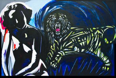 Maya Eizin Öijer, 'Tiger, tiger, burning bright, In the forests of the night', 2012