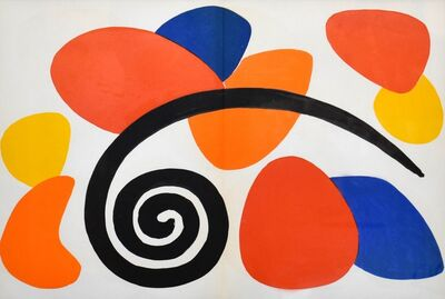Alexander Calder, 'Derriere le Miroir #173 (Plate 2)', 1968