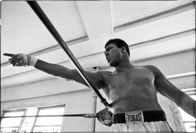 Al Satterwhite, 'Muhammad Ali ( Point Left)', 1971