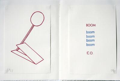 Claes Oldenburg, 'Boom, Stamped Indelibly', 1967