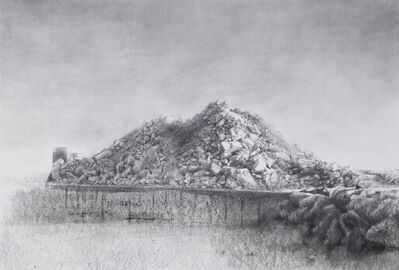 Andrés Moya, 'Artificial mountain N4', 2009