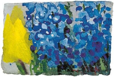 Klaus Fussmann, 'Tulpe und Vergißmeinnicht', 2005
