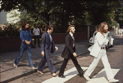 Linda McCartney, 'The Beatles, Abbey Road, London', 1969