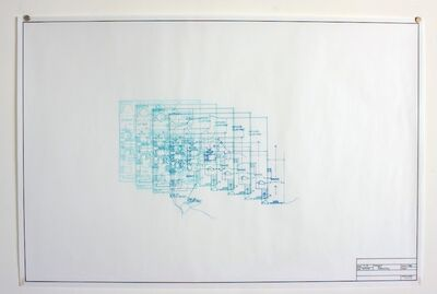Maggie Gourlay, 'Architectural Plan IV Deconstruct', 2014