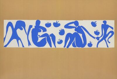 Henri Matisse, ' Femmes et Singes (Women and Monkeys)', 1958