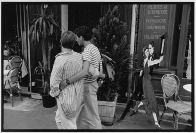 Leonard Freed, 'Couple in striped shirts, Paris, France', 1985