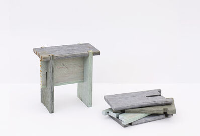 Dan Peterman, 'Nailless Benches', 2009