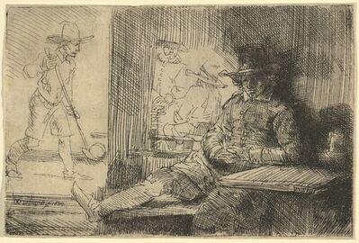 Rembrandt van Rijn, 'The Golf Player', 1654