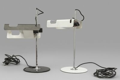 Joe Colombo, 'Two table lamps '291 Spider' for O-LUCE', 1965