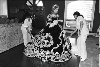 Laura Wilson, 'Debutante with her Maids, Laredo, Texas', 1994