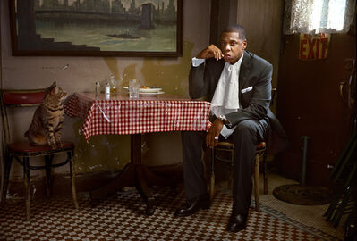 Martin Schoeller, 'Jay-Z with Cat, New York', 2007