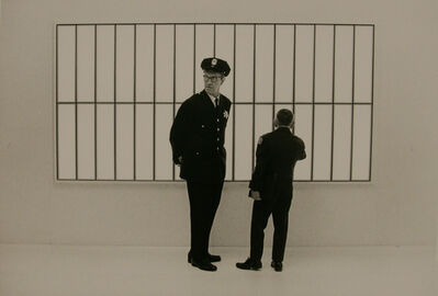 Ken Graves, 'Bank Guard, SF', 1969
