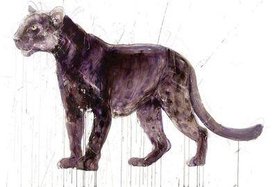 Dave White, 'Panther, Metal Leaf', ca. 2020