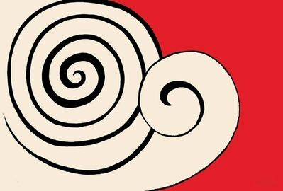 Alexander Calder, 'Deux Spirales', 1969