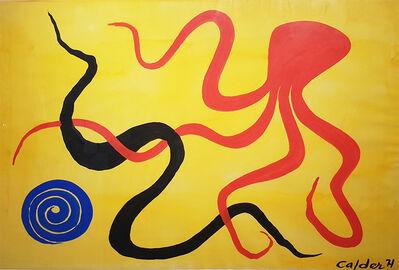 Alexander Calder, 'Red Octopus', 1971