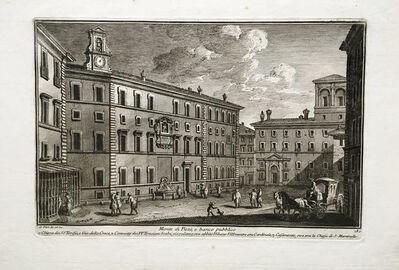 Giuseppe Vasi, 'Monte di Pieta e banco pubblico Plate 180 from Delle Magnificienze di Roma Antica e Moderna', 1747-1761