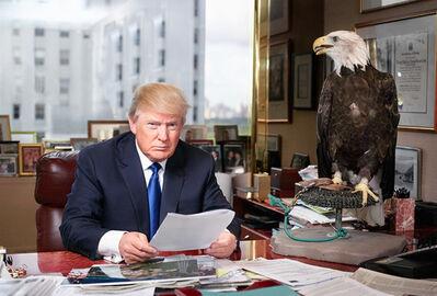 Martin Schoeller, 'Donald Trump', 2015
