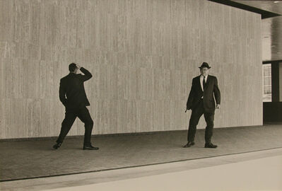 Ken Graves, 'Two Businessmen, SF, Ca', 1971