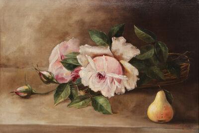 Nicola Saig, 'Untitled, (Still Life, Flowers and pear)', ca. 1920