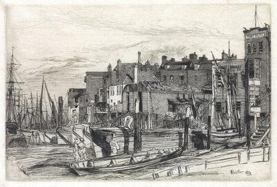 James A. M. Whistler, 'Thames Police', 1859