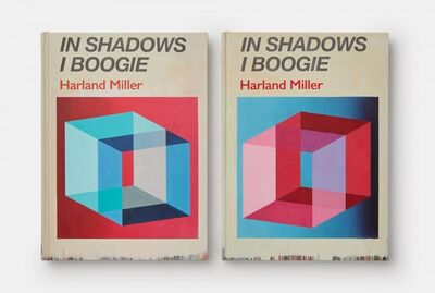 Harland Miller, 'In Shadows I Boogie (Blue & Red) - Box Print, set of two', 2019