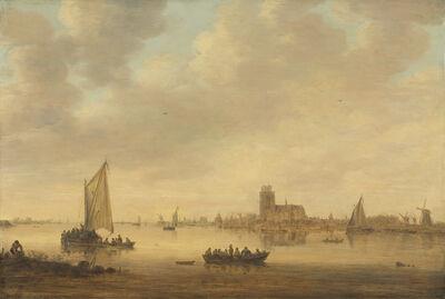 Jan van Goyen, 'View of Dordrecht from the Dordtse Kil', 1644