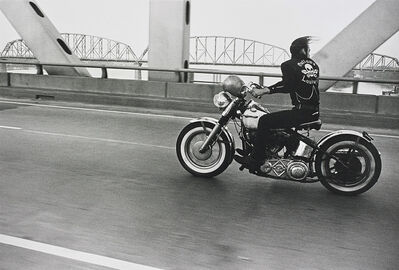 Danny Lyon, 'Crossing the Ohio near Louisville', 1966