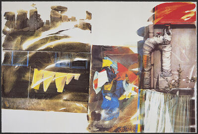 Robert Rauschenberg, 'Source from Speculations', 1996