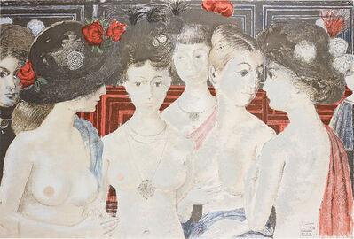 Paul Delvaux, 'Murmures (Murmurings)', 1979