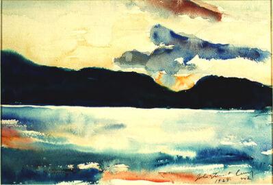 John Steuart Curry, 'Lake Otsego #4', 1923
