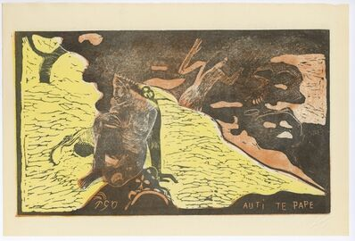 Paul Gauguin, 'Auti Te Pape (Women at the River)', 1943