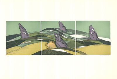 Wolff Buchholz, 'Landschaft', 1972