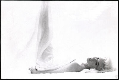 Bert Stern, 'Marilyn Monroe: From the Last Sitting (In Bed, Leg Up)', 1962