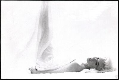Bert Stern, 'Marilyn Monroe: From the Last Sitting (In Bed, Leg Up)', 1962