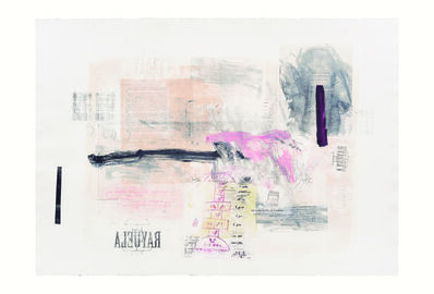 Rebeca Mendoza, 'Serie Cortazar, Monoprint A', 2015