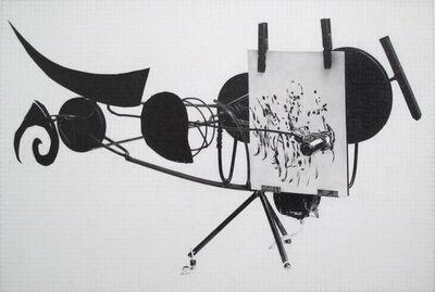 Dan Fischer, 'Jean Tinguely, Meta-Matic No. 8', 2014