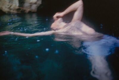 Nan Goldin, 'Guido floating, Levanzo, Sicily', 1999