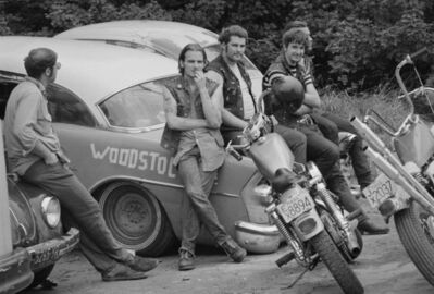 Roger Ballen, 'motorcycles', 1969